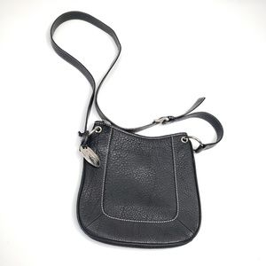 Talbots leather textured crossbody bag